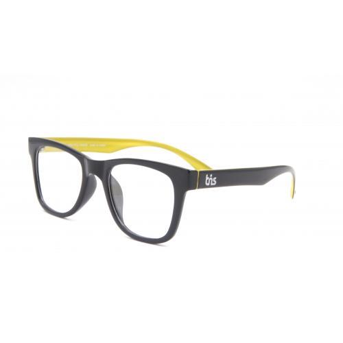 กรอบแว่นตา Eyelucy ( รุ่น SN310-4  ) เต็มกรอบสีดำเงา ขาสีดำ/ด้านในสีเหลือง น้ำหนักเบามาก ยืดหยุ่นสูง น่ารักมากมาย
